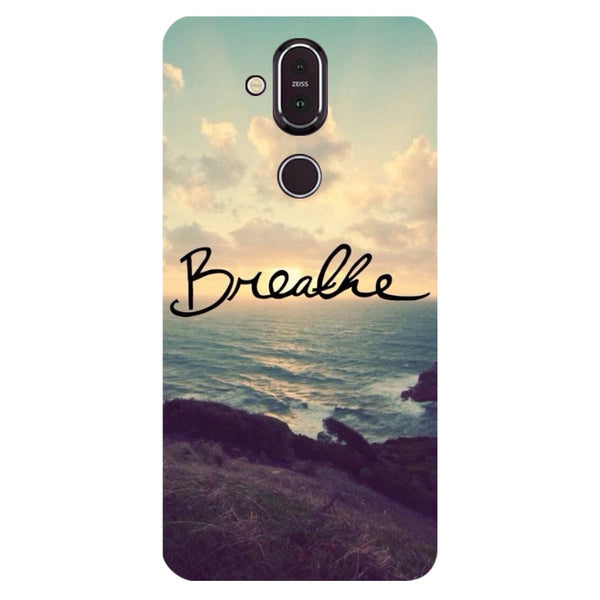 Breathe Nokia 8.1 Back Cover-Hamee India