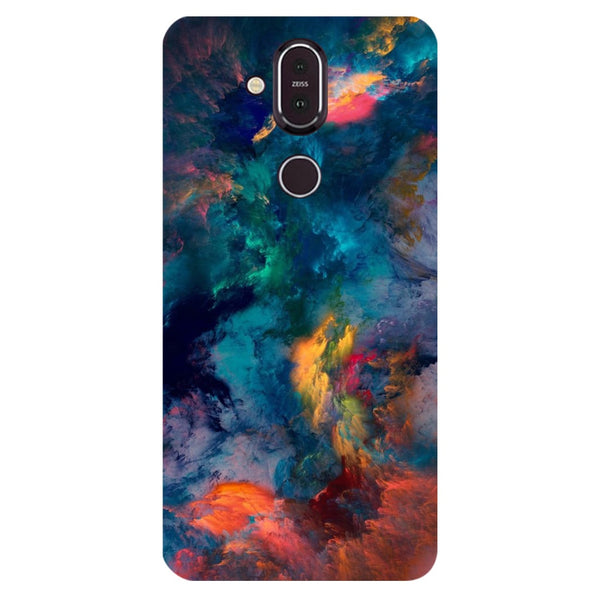 Fumes Nokia 8.1 Back Cover-Hamee India
