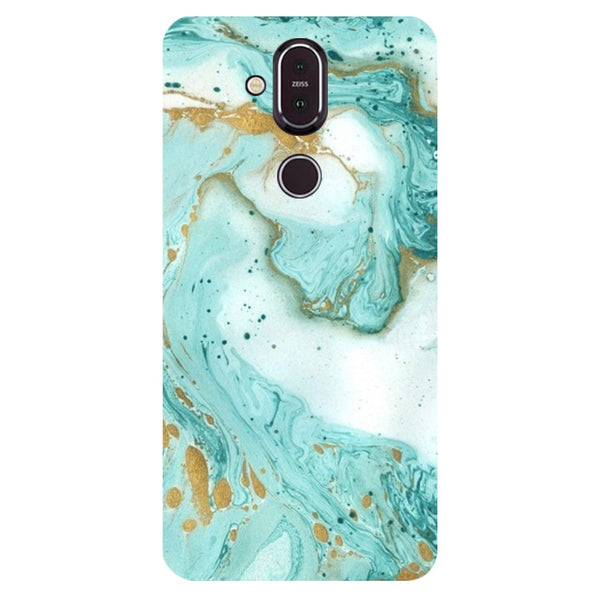 Marble Nokia 8.1 Back Cover-Hamee India