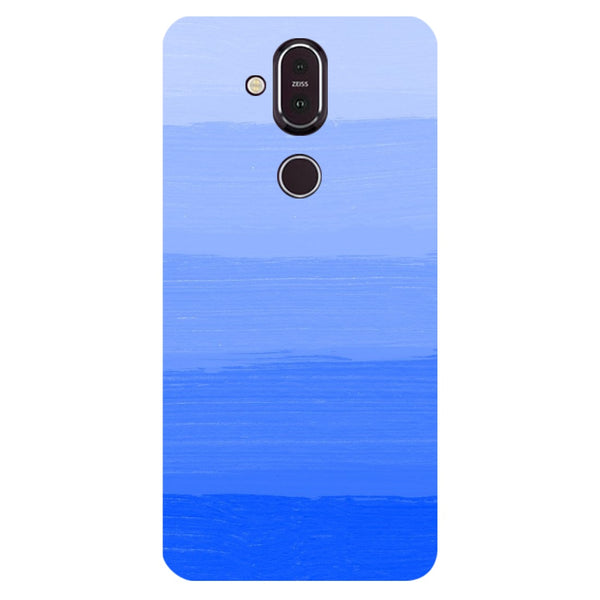 Blue Nokia 8.1 Back Cover-Hamee India