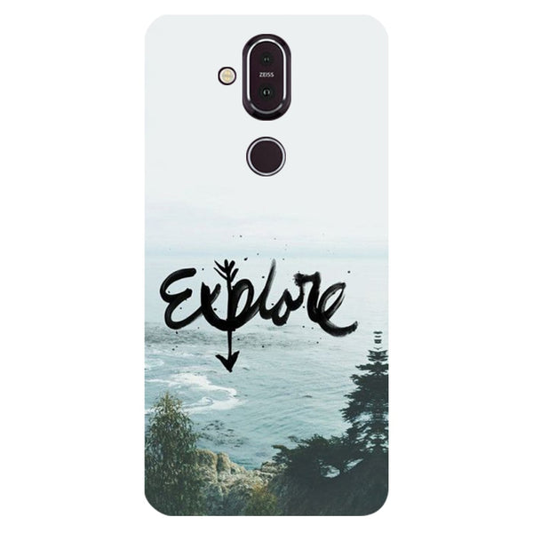Explore Nokia 8.1 Back Cover-Hamee India