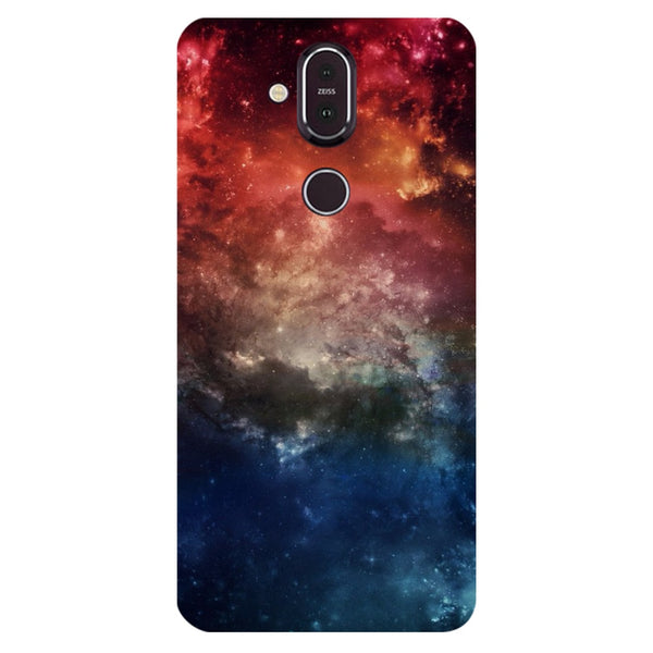 Space Nokia 8.1 Back Cover-Hamee India