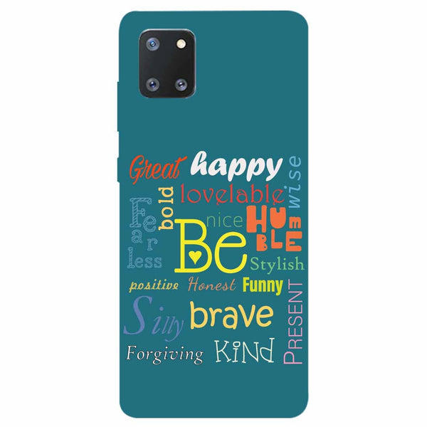 Be Samsung Galaxy Note 10 Lite Back Cover