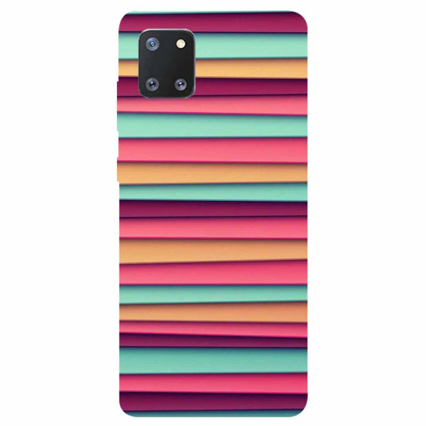 Colourful Stripes Samsung Galaxy Note 10 Lite Back Cover