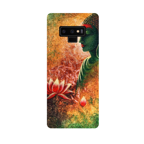 Side Buddha Samsung Galaxy Note 9 Back Cover-Hamee India