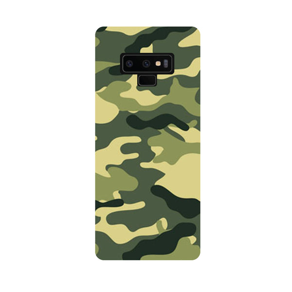 Camouflage Samsung Galaxy Note 9 Back Cover-Hamee India