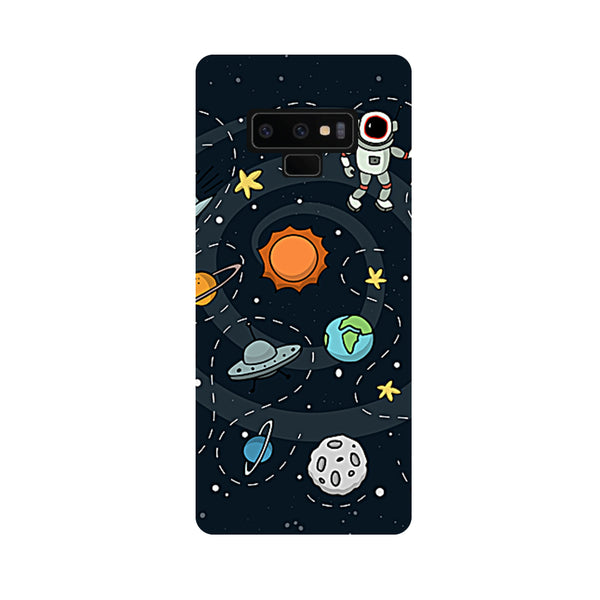 Space Samsung Galaxy Note 9 Back Cover-Hamee India
