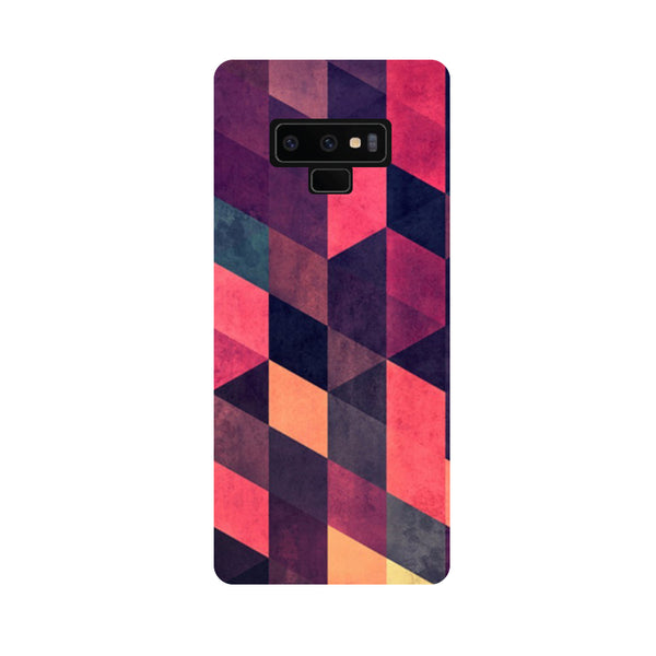 Pink Abstract Samsung Galaxy Note 9 Back Cover-Hamee India