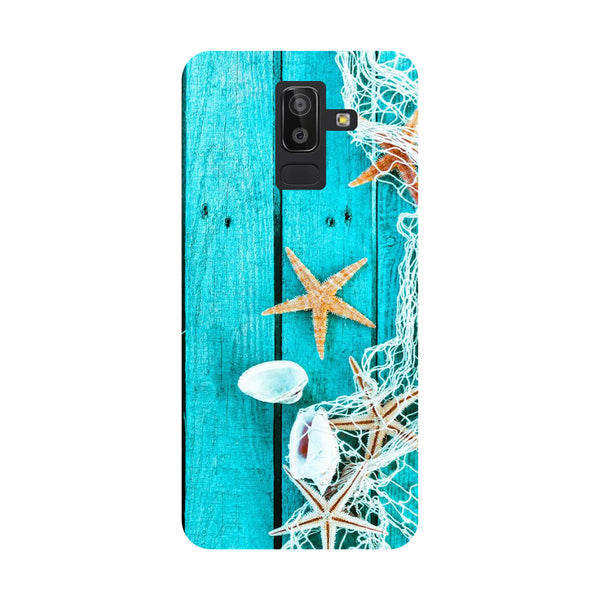 Sea Side Samsung Galaxy On8 (2018) Back Cover-Hamee India