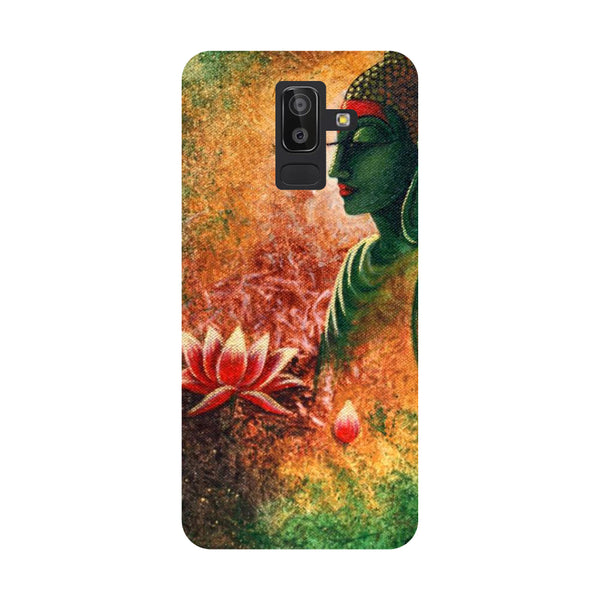 Side Buddha Samsung Galaxy On8 (2018) Back Cover-Hamee India