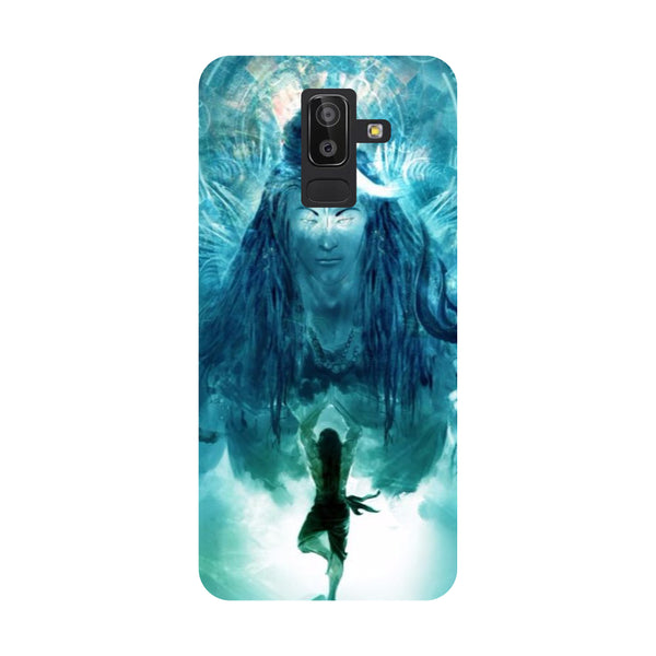 Standing Shiva Samsung Galaxy On8 (2018) Back Cover-Hamee India