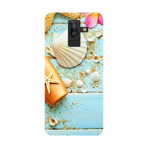 Shells Samsung Galaxy On8 (2018) Back Cover-Hamee India