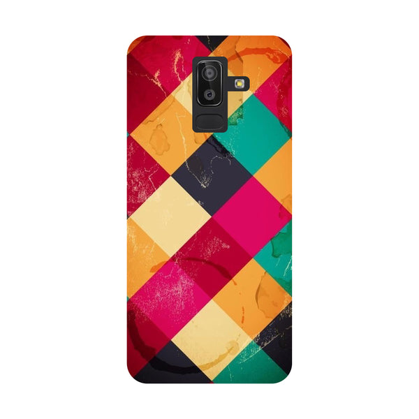 Weave Samsung Galaxy On8 (2018) Back Cover-Hamee India