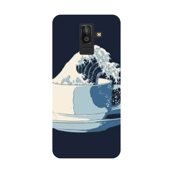 Tea Wave Samsung Galaxy On8 (2018) Back Cover-Hamee India
