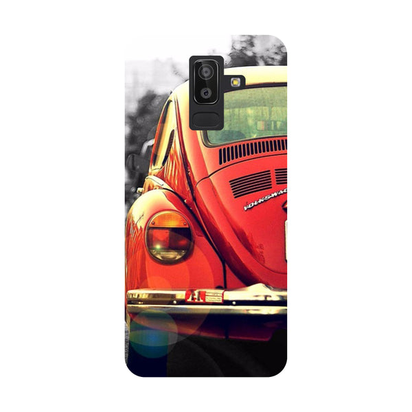 Vintage Car Samsung Galaxy On8 (2018) Back Cover-Hamee India