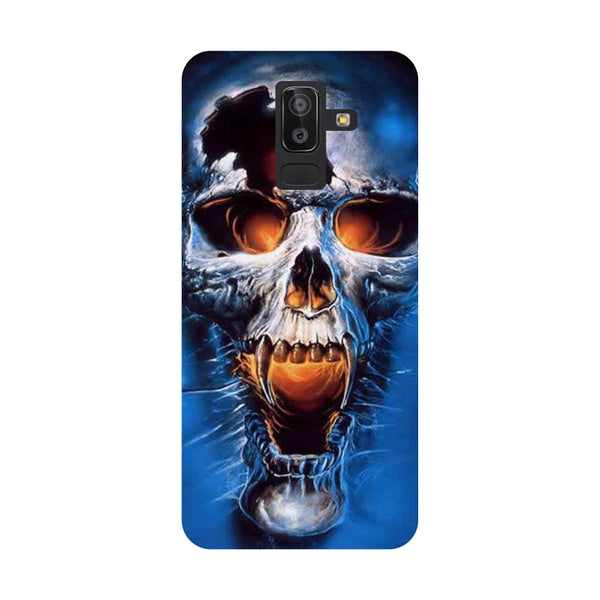 Scary Skull Samsung Galaxy On8 (2018) Back Cover-Hamee India