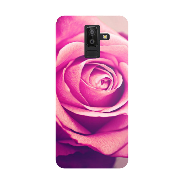 Pink Rose Samsung Galaxy On8 (2018) Back Cover-Hamee India