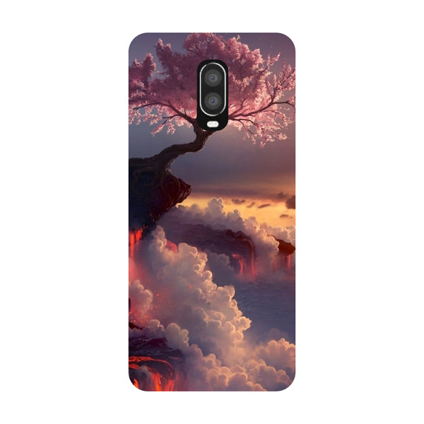 Blossom OnePlus 6T Back Cover-Hamee India