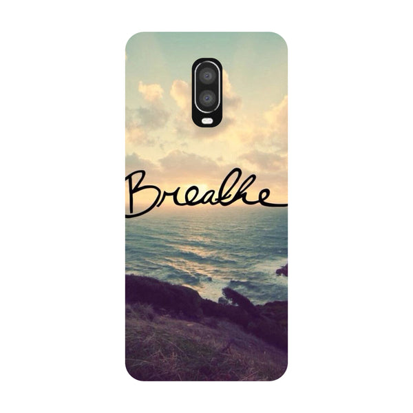 Breathe OnePlus 6T Back Cover-Hamee India