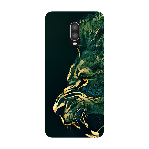 Dark Lion OnePlus 6T Back Cover-Hamee India