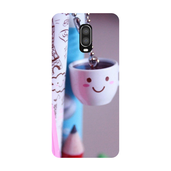Cup OnePlus 6T Back Cover-Hamee India
