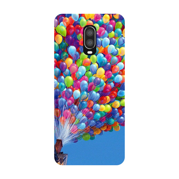 Balloons OnePlus 6T Back Cover-Hamee India