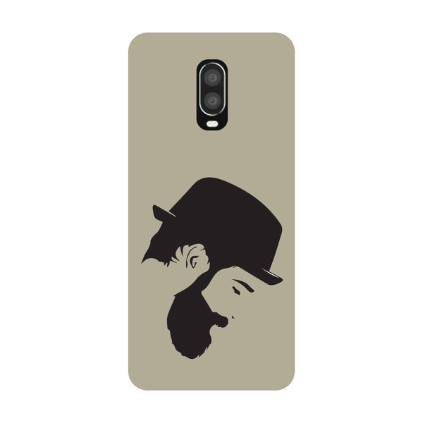Beard Man OnePlus 6T Back Cover-Hamee India