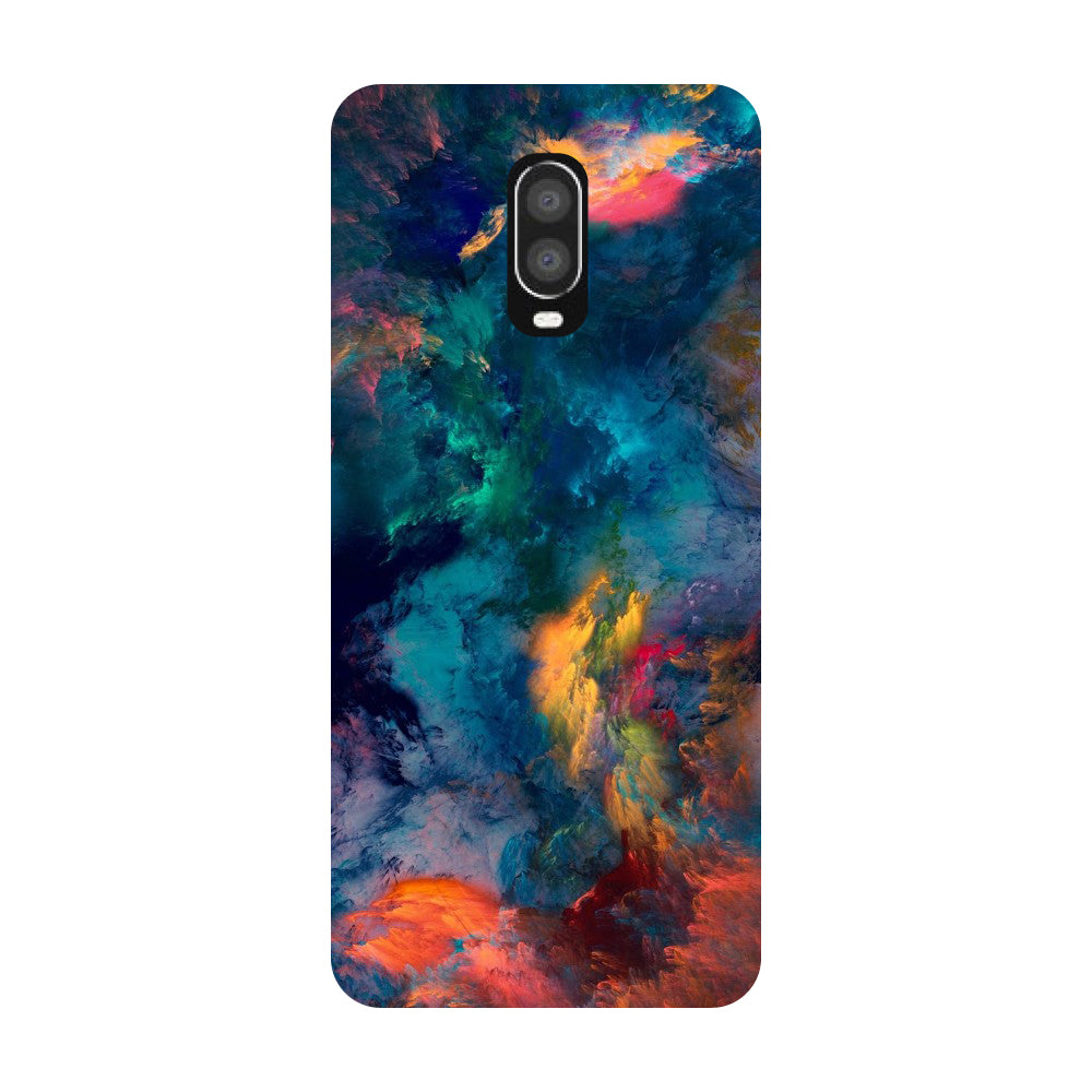 Abstract Fumes OnePlus 6T Back Cover-Hamee India