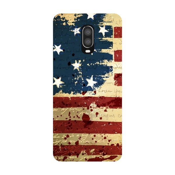 Flag OnePlus 6T Back Cover-Hamee India