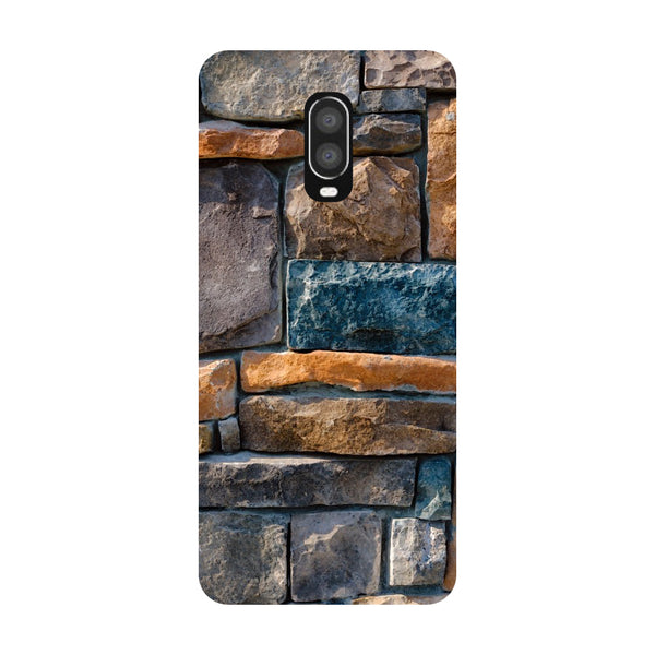 Bricks OnePlus 6T Back Cover-Hamee India