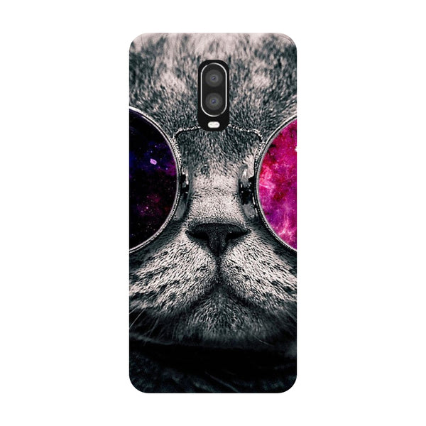 Cool Cat OnePlus 6T Back Cover-Hamee India