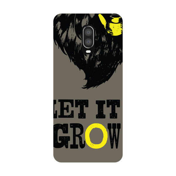 Let It Grow OnePlus 6T Back Cover-Hamee India