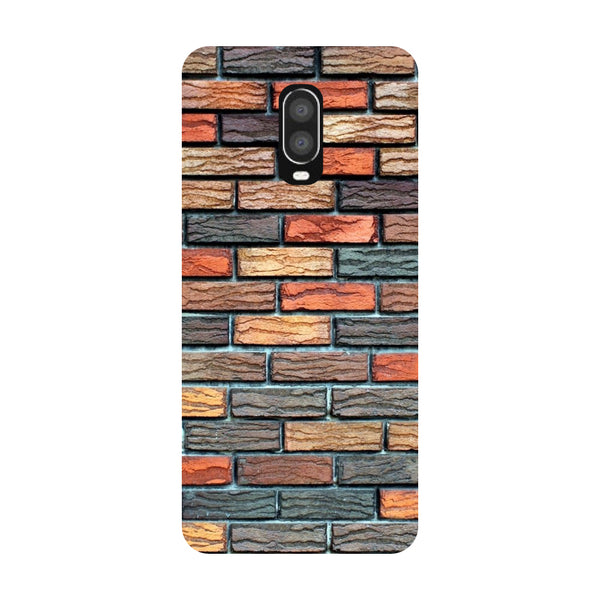 Brick Wall OnePlus 6T Back Cover-Hamee India