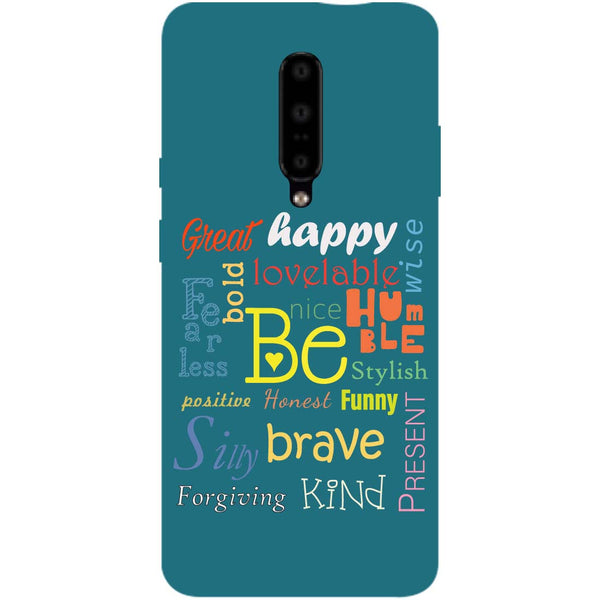 Be OnePlus 7 Pro Back Cover-Hamee India