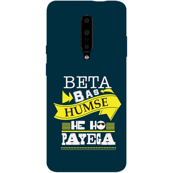 Beta OnePlus 7 Pro Back Cover-Hamee India