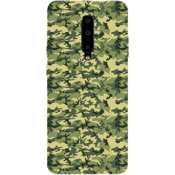 Mini Camouflage OnePlus 7 Pro Back Cover-Hamee India