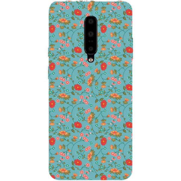 Floral OnePlus 7 Pro Back Cover-Hamee India