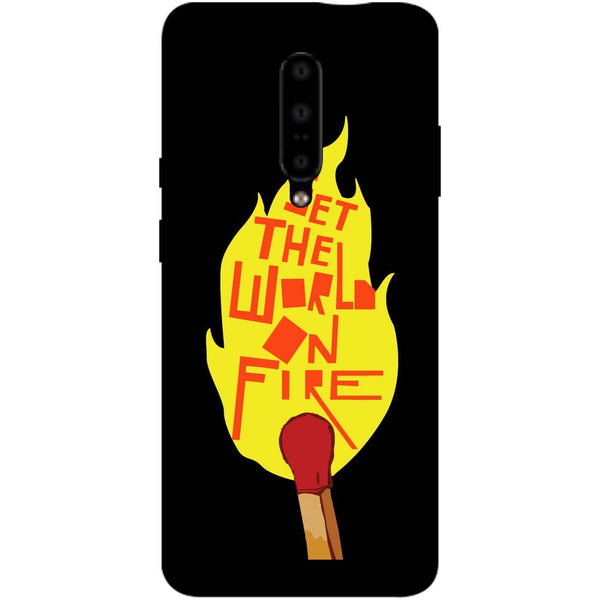 Fire OnePlus 7 Pro Back Cover-Hamee India