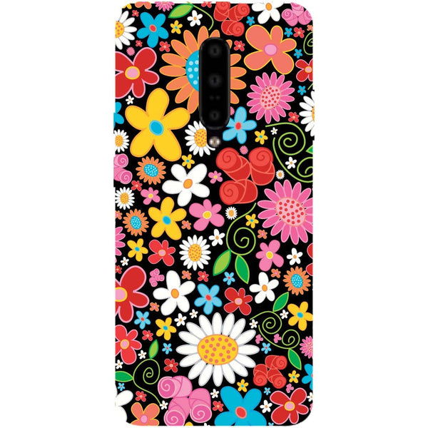 Bloom OnePlus 7 Pro Back Cover-Hamee India