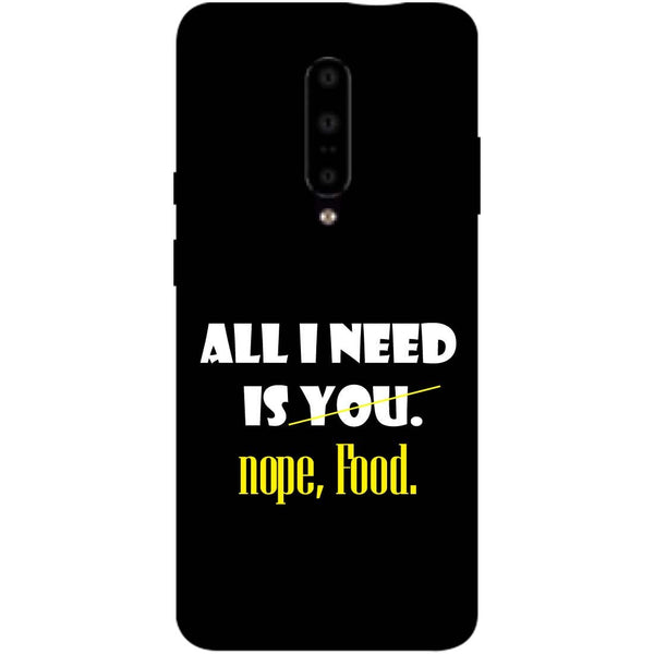 Food OnePlus 7 Pro Back Cover-Hamee India