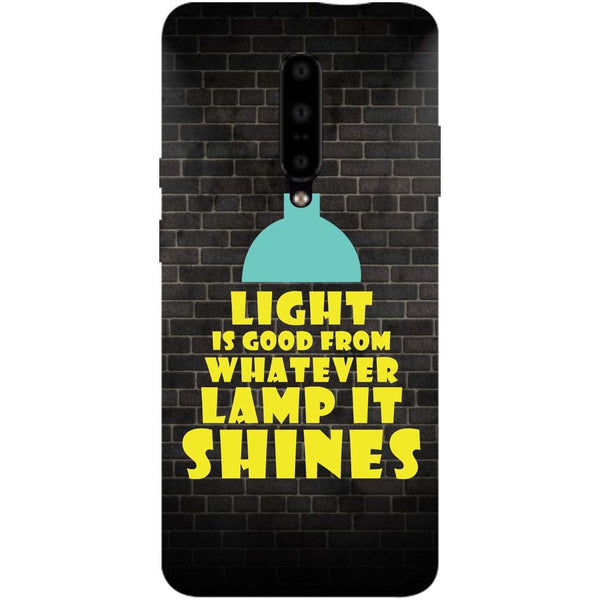Shine OnePlus 7 Pro Back Cover-Hamee India