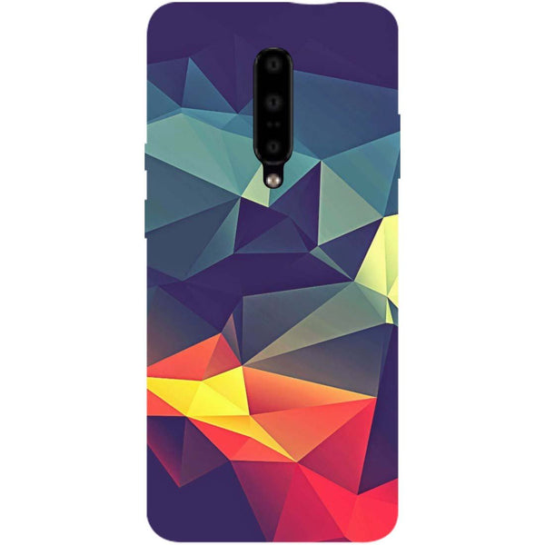 Geometric OnePlus 7 Pro Back Cover-Hamee India