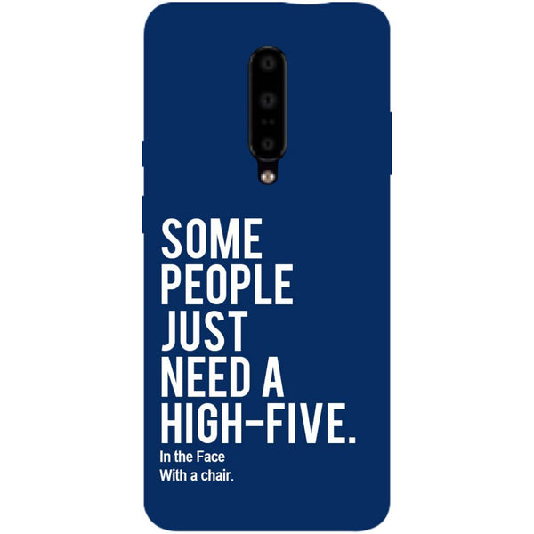 High Five OnePlus 7 Pro Back Cover-Hamee India