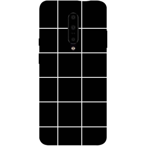 Checks OnePlus 7 Pro Back Cover-Hamee India