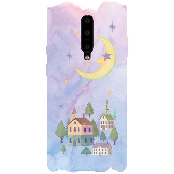 Starry Night OnePlus 7 Pro Back Cover-Hamee India