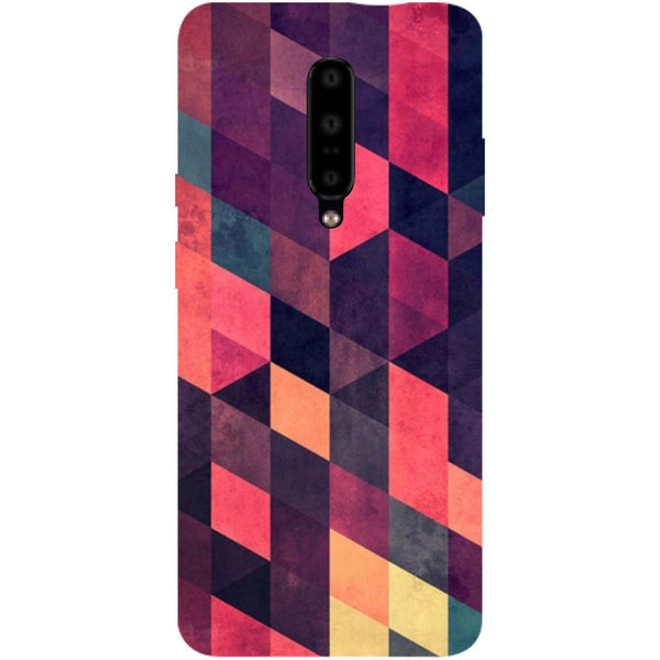 Pink Shades OnePlus 7 Pro Back Cover-Hamee India