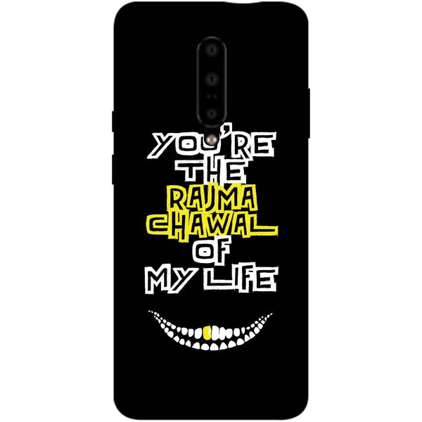 Rajma Chawal OnePlus 7 Pro Back Cover-Hamee India