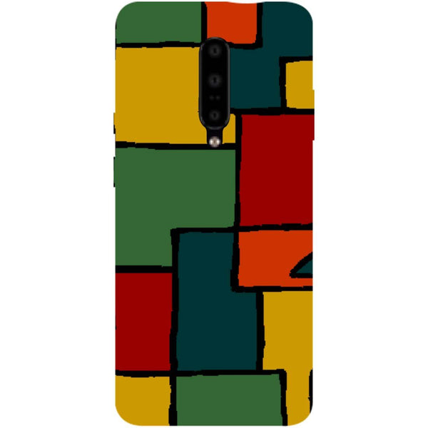 Blocks OnePlus 7 Pro Back Cover-Hamee India