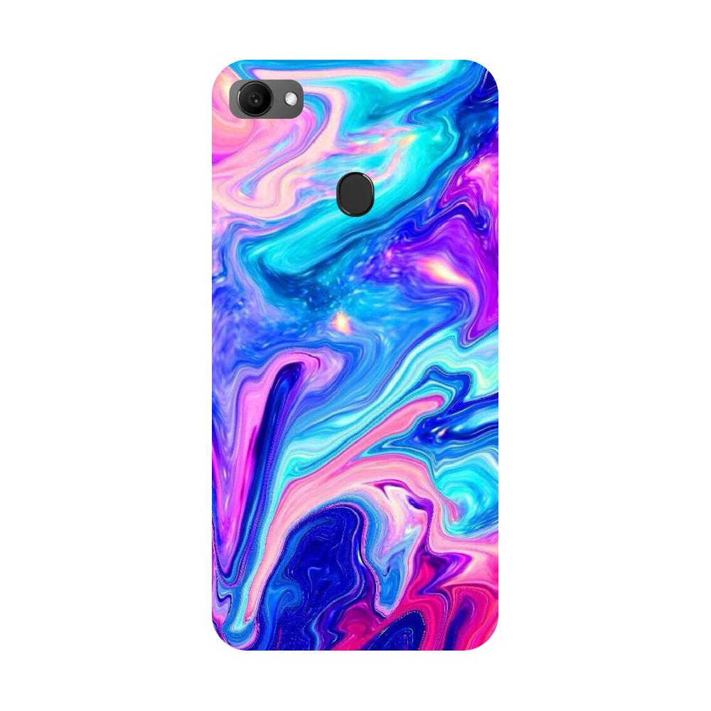 Abstract Paint Oppo F7 Back Cover-Hamee India