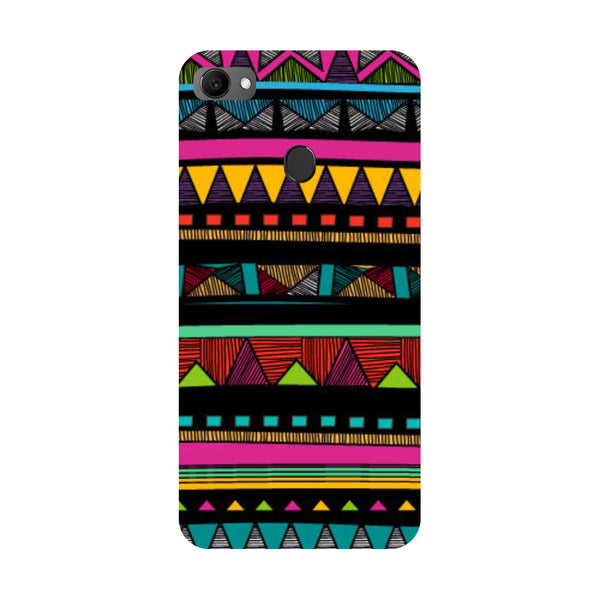 Tribal Oppo F7 Back Cover-Hamee India